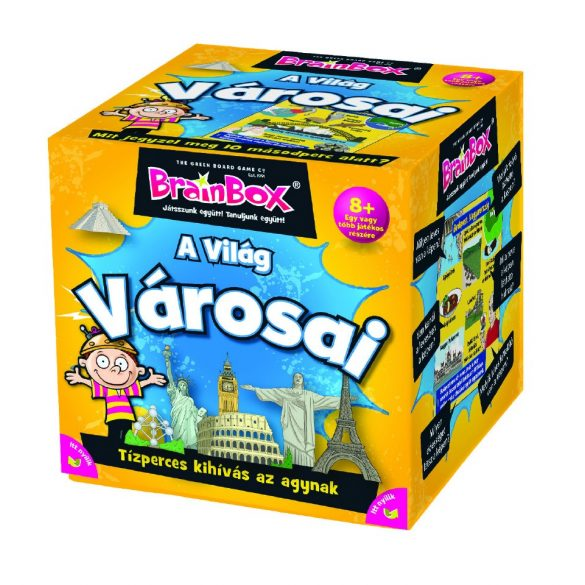 BrainBox A Világ  városai társasjáték