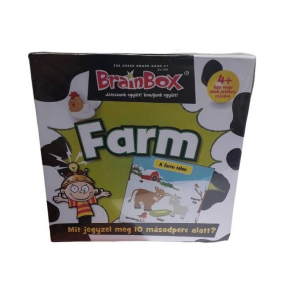 BrainBox A Farm társasjáték