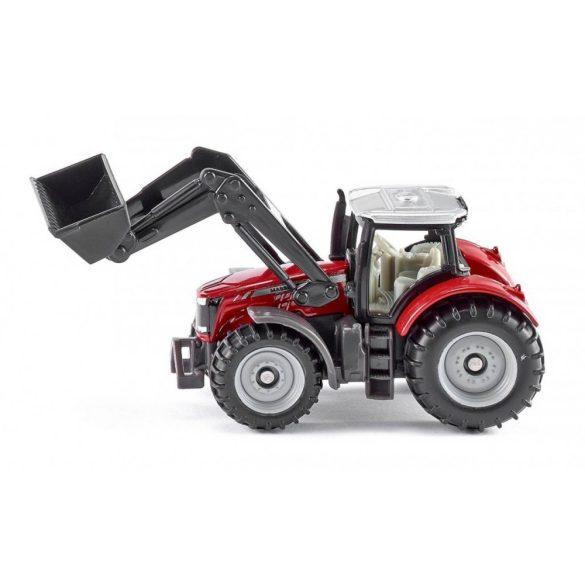 SIKU 1484 Massey Fergusson traktor emelővel