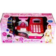 Játék pénztárgép (pink-ezüst)