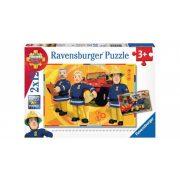 Ravensburger 07584 puzzle - Sam a tűzoltó (2x12 db-os)