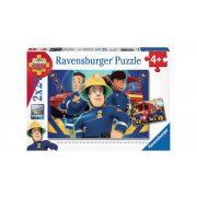 Ravensburger 09042 puzzle - Sam a tűzoltó: Sam segít a bajban (2x24 db-os)