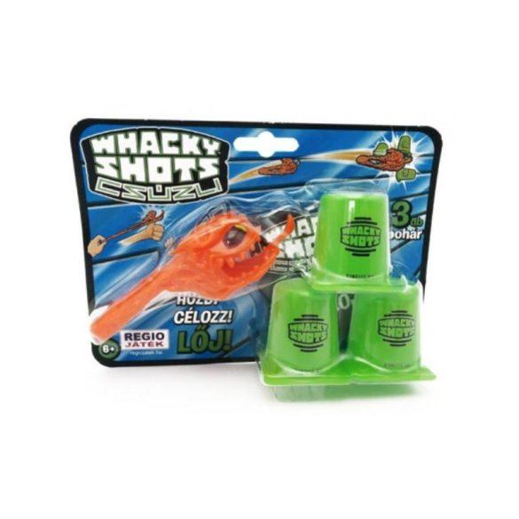 Whacky Shots Repülő szörnyek csúzli készlet