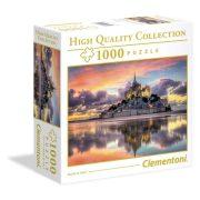 Clementoni 96160 High Quality Collection puzzle négyzet alakú dobozban - Mont-Saint-Michel (1000 db)
