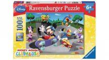 Ravensburger 10871 XXL Disney puzzle - Mickey és barátai: Gördeszkázás (100 db-os)