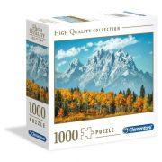 Clementoni 96700 High Quality Collection puzzle négyzet alakú dobozban - A Grand Teton õsszel (1000 db)