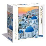 Clementoni 97633 High Quality Collection puzzle négyzet alakú dobozban - Santorini (1000 db)