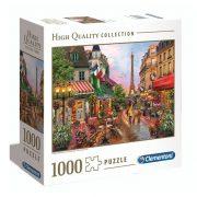 Clementoni 97635 High Quality Collection puzzle négyzet alakú dobozban - Virágok Párizsban (1000 db)