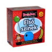 BrainBox Első színek kicsiknek társasjáték