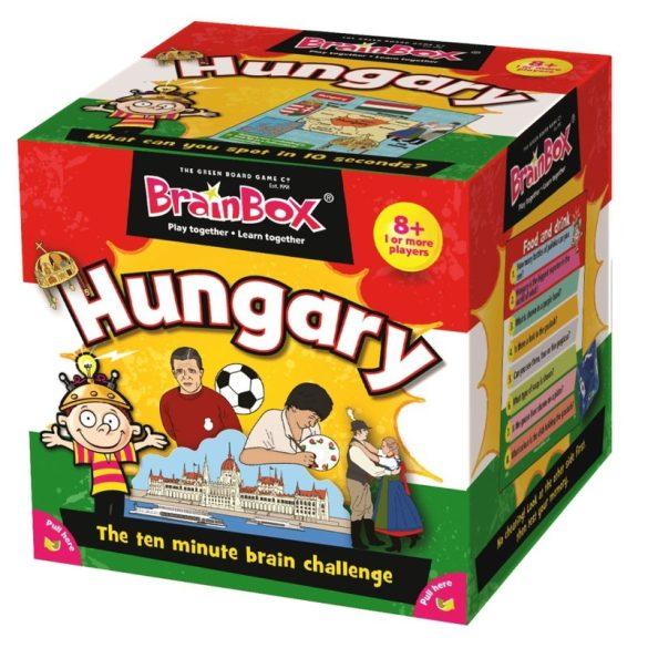 BrainBox Hungary in English (Magyarország angolul) társasjáték