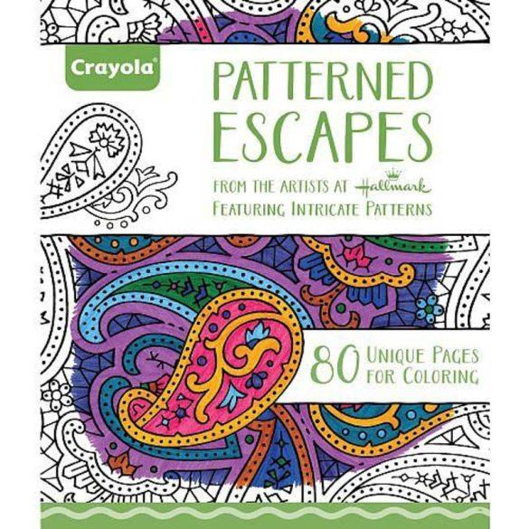 Crayola - Felnőtt színezőlapok 80 lapos