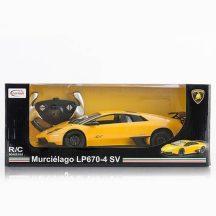 RASTAR Távirányítós autó 1:14-es méretaránnyal - LAMBORGHINI MURCIELAGO LP670-4 (sárga)