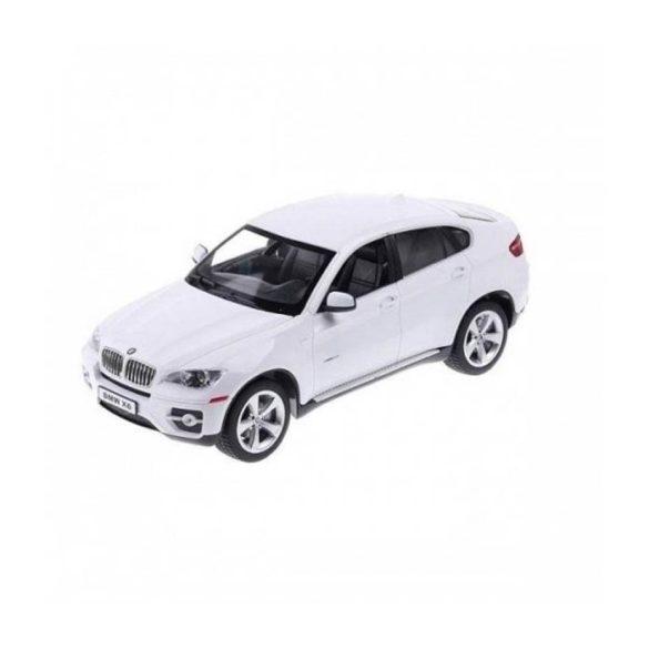 RASTAR 31700 Távirányítós autó 1:24-es méretaránnyal - BMW X6 (FEHÉR)