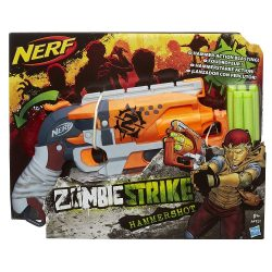 NERF Zombiestrike Hammershot szivacslövő játékfegyver