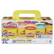 Play-Doh Szuper színkészlet tégelyes gyurma (20 db)
