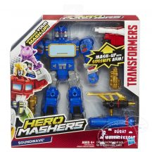 Transformers Hero Mashers Battle Upgrade játék figurák - SOUNDWAVE