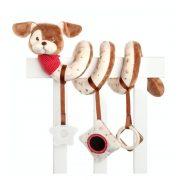 Bébi kutya plüss spirál (28 cm)