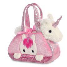 Fancy Pals - Unikornis rózsaszín táskában 17 cm