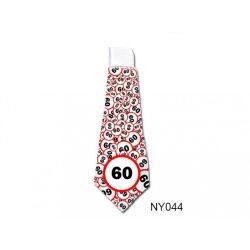 Születésnap 60 karikás - nyakkendő