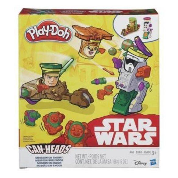 Play-Doh Star Wars MISSION ON ENDOR mini gyurmaszett