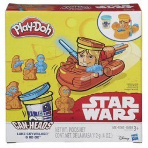 Play-Doh Star Wars Luke Skywalker & R2-D2 gyurma