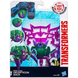 Transformers Mini-Con 1 lépésben átalakítható játék figurák - DECEPTION BACK