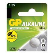 GP LR44 A76 alkáli gombelem (1 db)