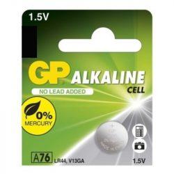 GP ALKALINE CELL A76, LR44,V13GA, 1.5V