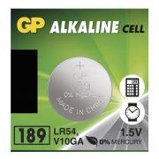 GP LR54 189 alkáli gombelem (1 db)