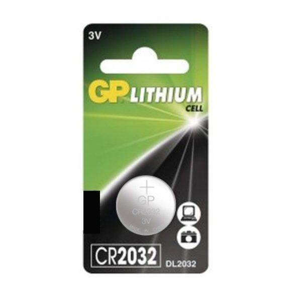 GP CR2032 lítium gombelem (1 db)