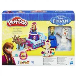 Play-Doh Frozen/Jégvarázs gyurmaszett: Anna és a varázsszán