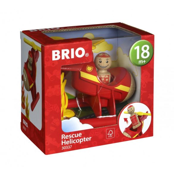 BRIO 30337 Mentőhelikopter
