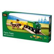 Brio 33404 Farm vonat 2 vagonnal