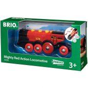 BRIO 33592 Piros Action Lokomotív játékmozdony