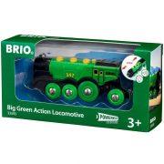 BRIO 33593 Zöld Action Lokomotív