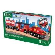 Brio 33844 Sürgősségi tűzoltó vonat