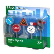 Brio 33864 Közúti jelzőtábla szett