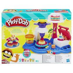 Play-Doh Sütemény party gyurmakészlet