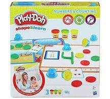 Play-Doh Számok és számolás gyurmakészlet