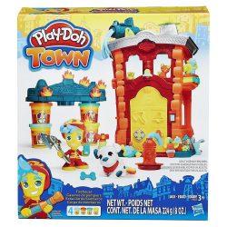 Play-Doh Town - TŰZOLTÓÁLLOMÁS gyurmakészlet