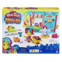 Play-Doh Town - KISÁLLAT KERESKEDÉS gyurmakészlet