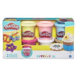 Play-Doh Konfettis gyurmaszett (6 db kis tégelyes gyurmával)