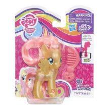 My little pony: Fedezd fel Equestriát, mozgatható póni fésűvel - FLUTTERSHY csillámos sárga