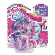 My little pony: Fedezd fel Equestriát, mozgatható póni fésűvel - STARLIGHT GLIMMER csillámos rózsaszín