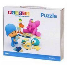 POCOYO puzzle játék kicsiknek 4 különböző képpel