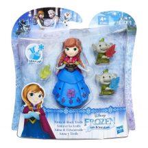 Disney Jégvarázs Mini Királyság figurák - ANNA és a KŐTROLLOK