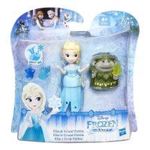 Disney Jégvarázs Mini Királyság figurák - ELSA és GRAND PABBIE manó