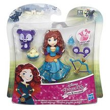 Disney Mini hercegnőbabák kiegészítőkkel - MERIDA