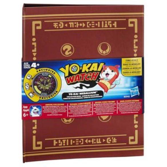 Yo-Kai őrzők Medál gyűjtőalbum