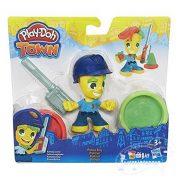 Play-Doh: Town - Rendőr gyurmafigura